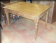 victorian edwardian pine table