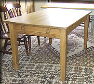 victorian edwardian kitchen table