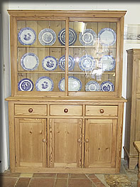 antique pine dresser edwardian