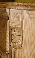 carved detail dresser base
