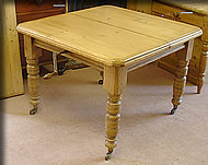 pine wind-out table